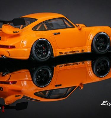 RWB M.S. International Co. Ltd Orange – 1:43 Miniature Model Car
